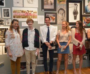 Kate James - CCHS Senior protfolio winners
