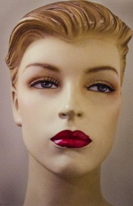 RUTH NELSON, Hilda - Portrait of a Mannequin, Archival digital print, 18 x 12 inches, $350
