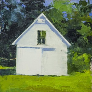 SUSANAH HOWLAND, Dorothy Eschel's Studio, Oil on linen on panel, 16 x 16 inches, $1,200