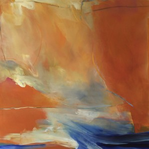 KATHY A. DEFLICE-SECOR, Revival; Acrylic, graphite, pastel; 26.5 x 26.5 in.; $2,900