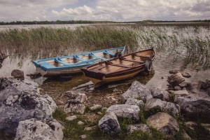 PAUL GOODWIN, Two Boats, Photograph, 13 x 19 inches, $450
