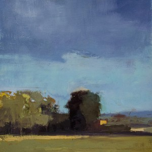KATHLEEN ROBBINS, Odiorne Point Series #4, Oil on board, 16 x 16 inches, $900