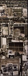 LINDA WATSKIN, 176th Street, Photo collage, 25 x 10.5 inches, $350