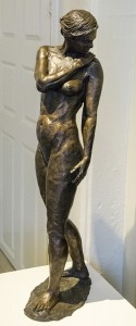 DIANE McLEOD-PACKER Eve, Bronze; 10.5 x 7 x 30.5 inches, $6,750