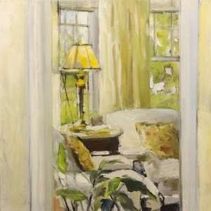 JEANINE SOBELL PASTORE, Home #2 Oil; 12 x 12 inches, $1,200