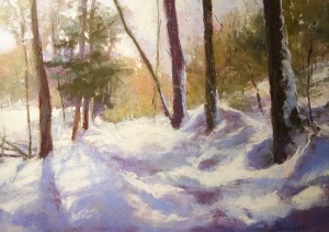 CAROL SHEINGOLD, Untouched, Pastel; 17 x 21 inches, $850