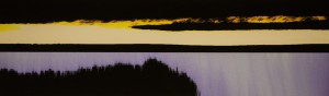 Martin Schumacher	 Deer Isle Dawn	 Ink, mixed media, archival pigment print 2.75 x 9 inches