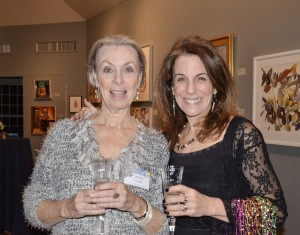 Jean Carter, CAA board member and April Stone, Director of Marketing and Communications