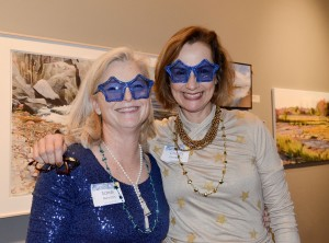 Starry Starry Night event chairs Sarah Newton and Charity Tremblay