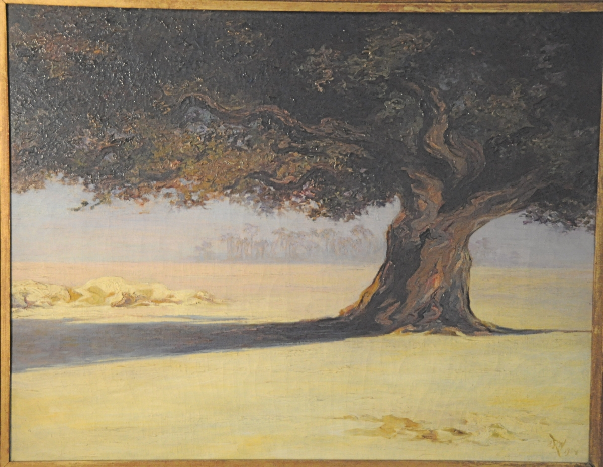 """The Tree in the Desert, Nile Valley"" 1904"