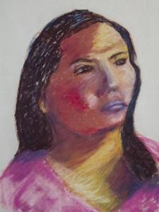 CINDI DEIMANTAS   Untitled Pastel; 12 x 12 inches $110
