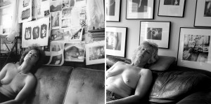 NANCY ROBERTS 26  Years Later Archival pigment print; 7 x 14 inches $250