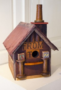 CARL BENDER, From A to Z, mixed media; 16 x 10 x 13 inches, $750