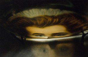 NADINE WALLACK, The Mask, photography; 9.5 x 15 inches, $300