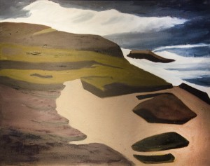 SALLY RUSSEL. Schoodic Remembered Oil on painting; 24 x 30 inches; $950