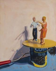 JANET SCHWARTZ. Windup Dancers Oil; 28 x 22 inches; $750