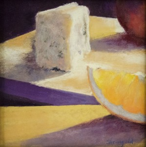 CAROL SHEINGOLD, Angles of Repose Pastel; 8 x 8 inches; $400