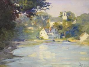 "Elizabeth Wentworth Roberts, ""Annisquam Landscape,"" 1915"