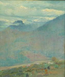 """George Loftus Noyes, """"Landscape"""""""