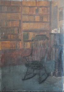 "Elizabeth Wentworth Roberts, ""Library,"" (possibly Emerson's Study), 1902-2"