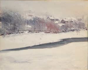 "Roger W. Curtis, ""February Storm"""