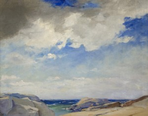 "Elizabeth Wentworth Roberts, ""Seascape"""
