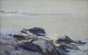 "Elizabeth Wentworth Roberts, ""Seascape Annisquam"""