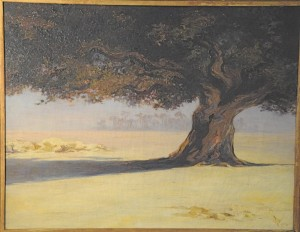 "Elizabeth Wentworth Roberts, ""The Tree in the Desert, Nile Valley,"" 1904"