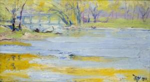 """""""The Bridge"""" 1915"""